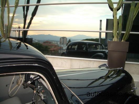 Cotxe en Hotel AC de Girona